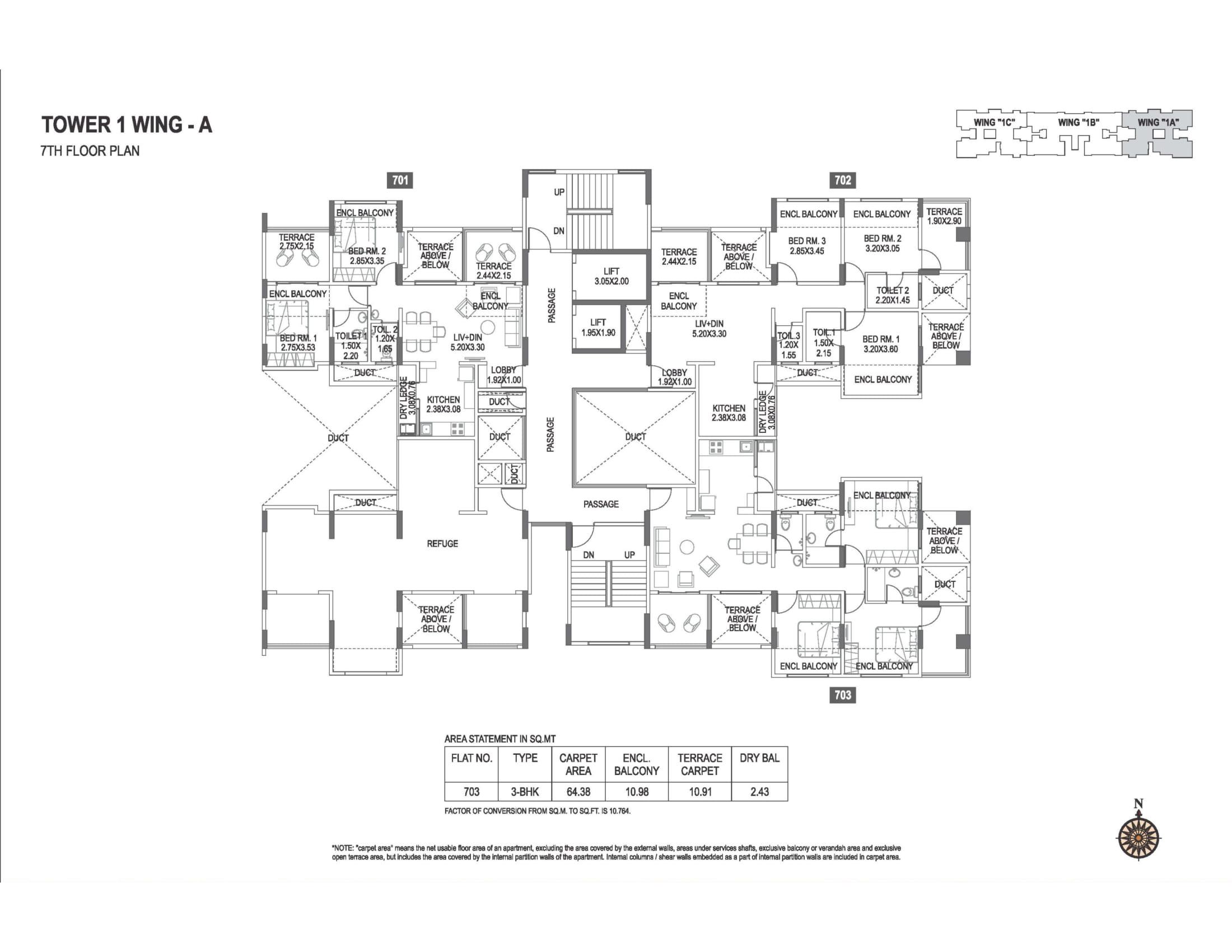 abhiruchi-parisar-tower-1-wing-a-7th-floor-plan-1