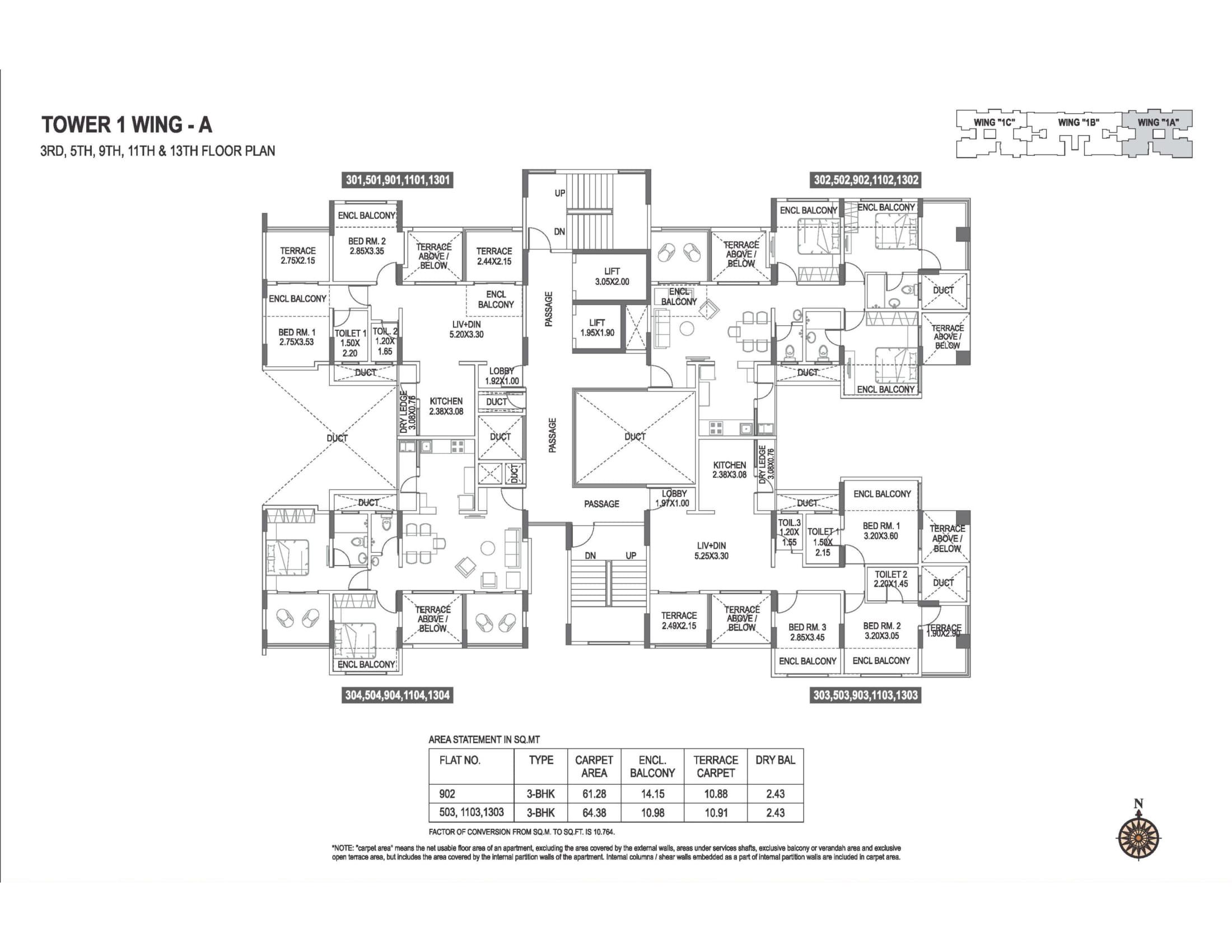 abhiruchi-parisar-tower-1-wing-a-odd-floor-plan-1
