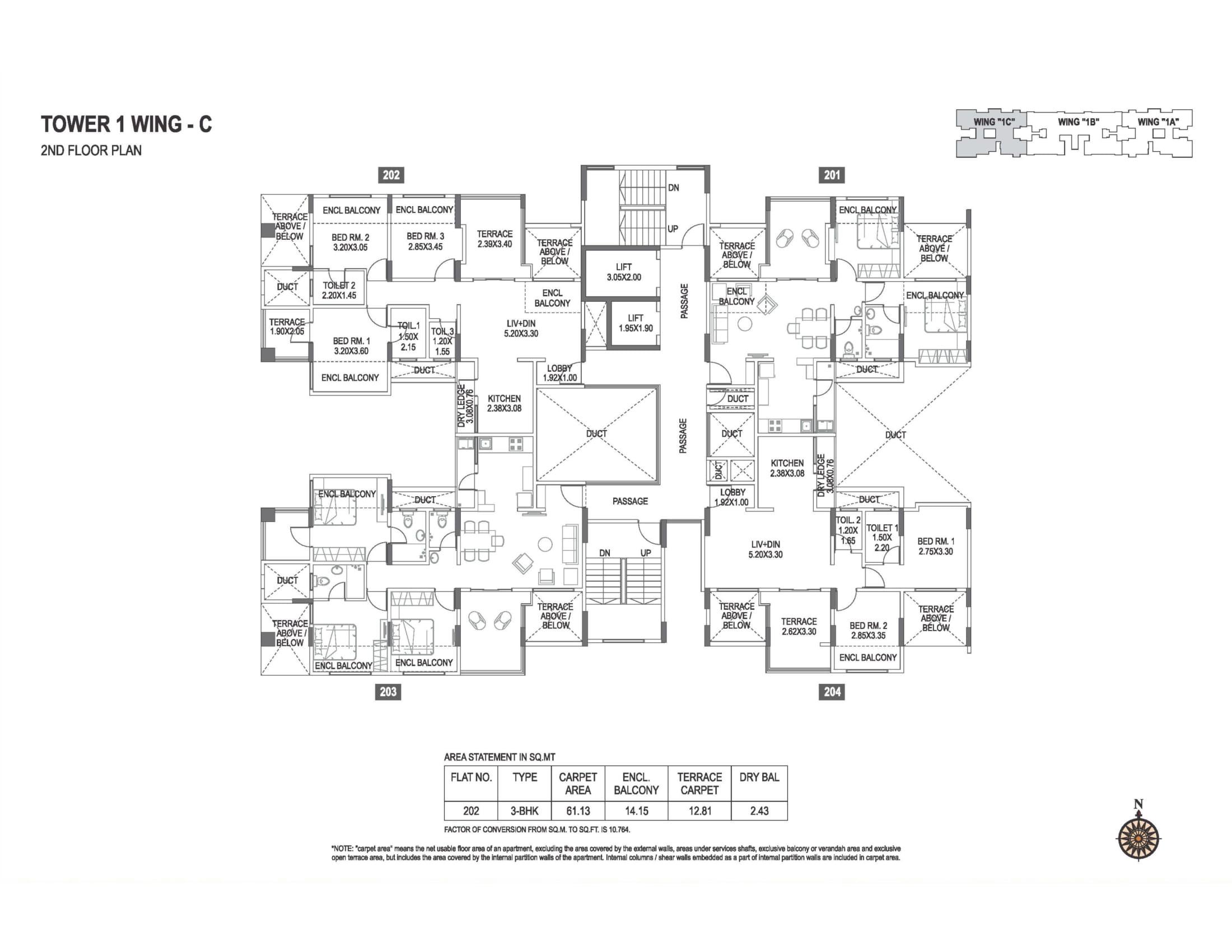 abhiruchi-parisar-tower-1-wing-c-2nd-floor-plan-1