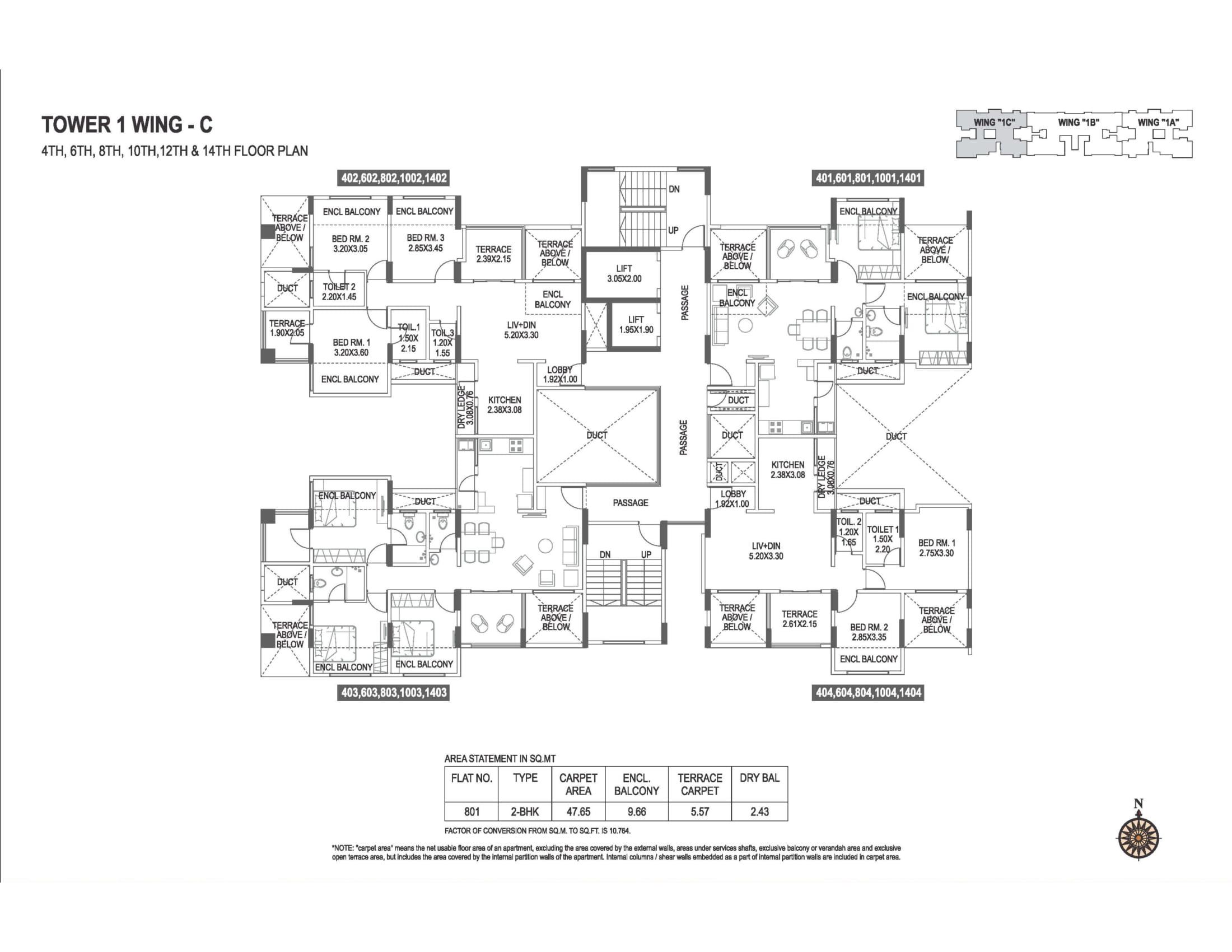 abhiruchi-parisar-tower-1-wing-c-even-floor-plan-1