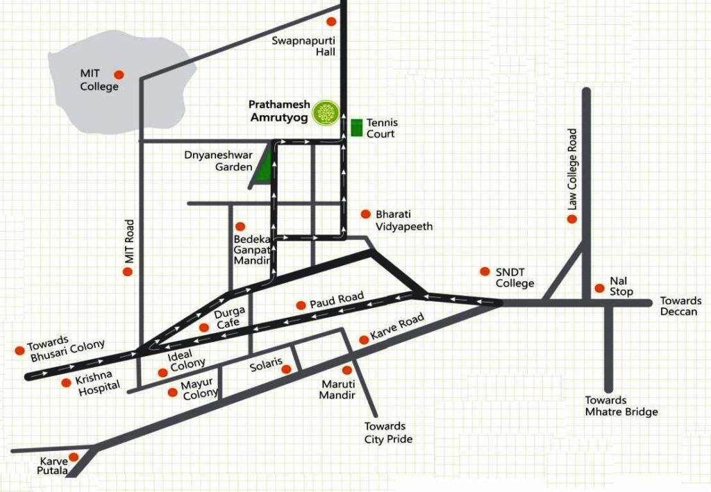 amrutyog-location-plan