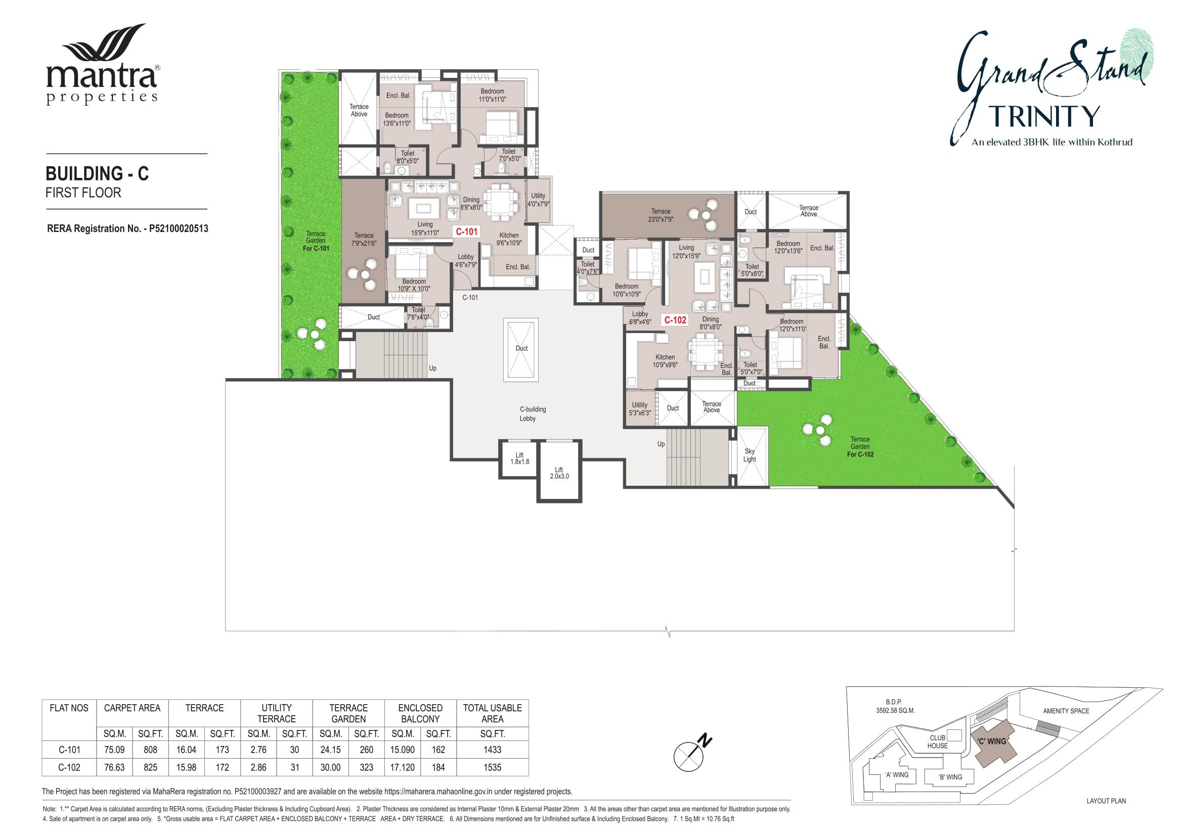 Grandstand Building - C Floor Plans-1