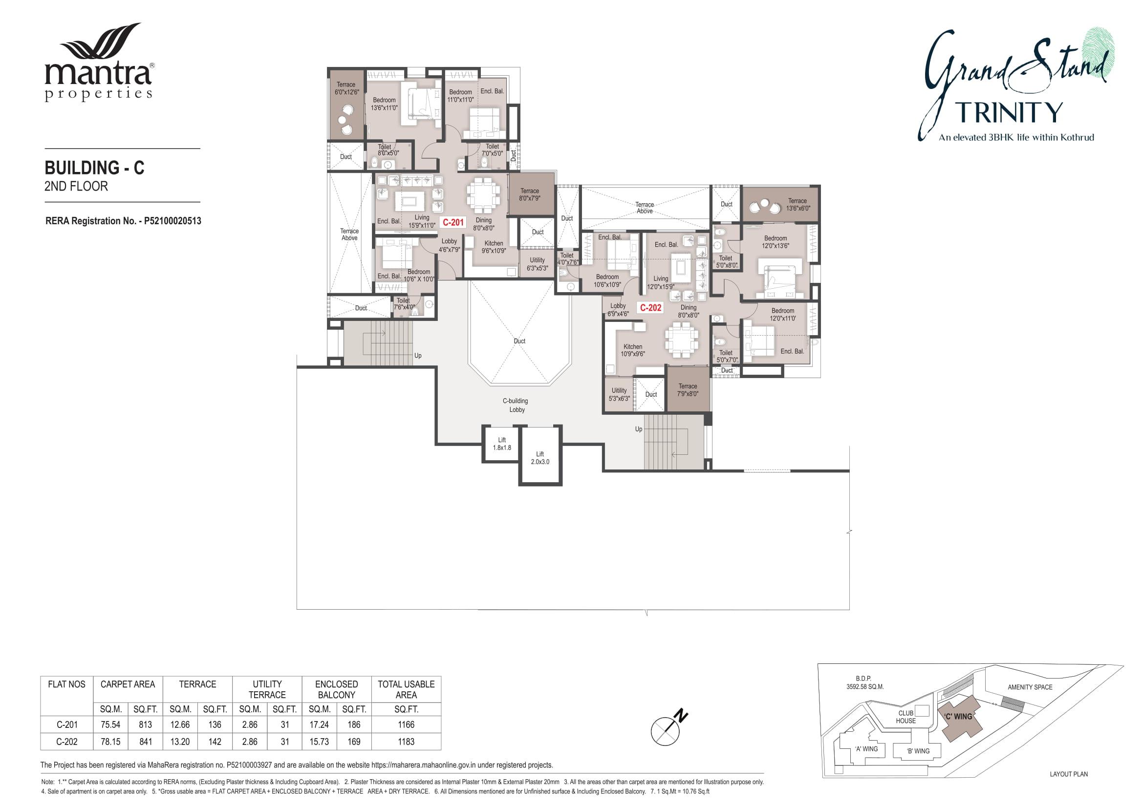 Grandstand Building - C Floor Plans-2