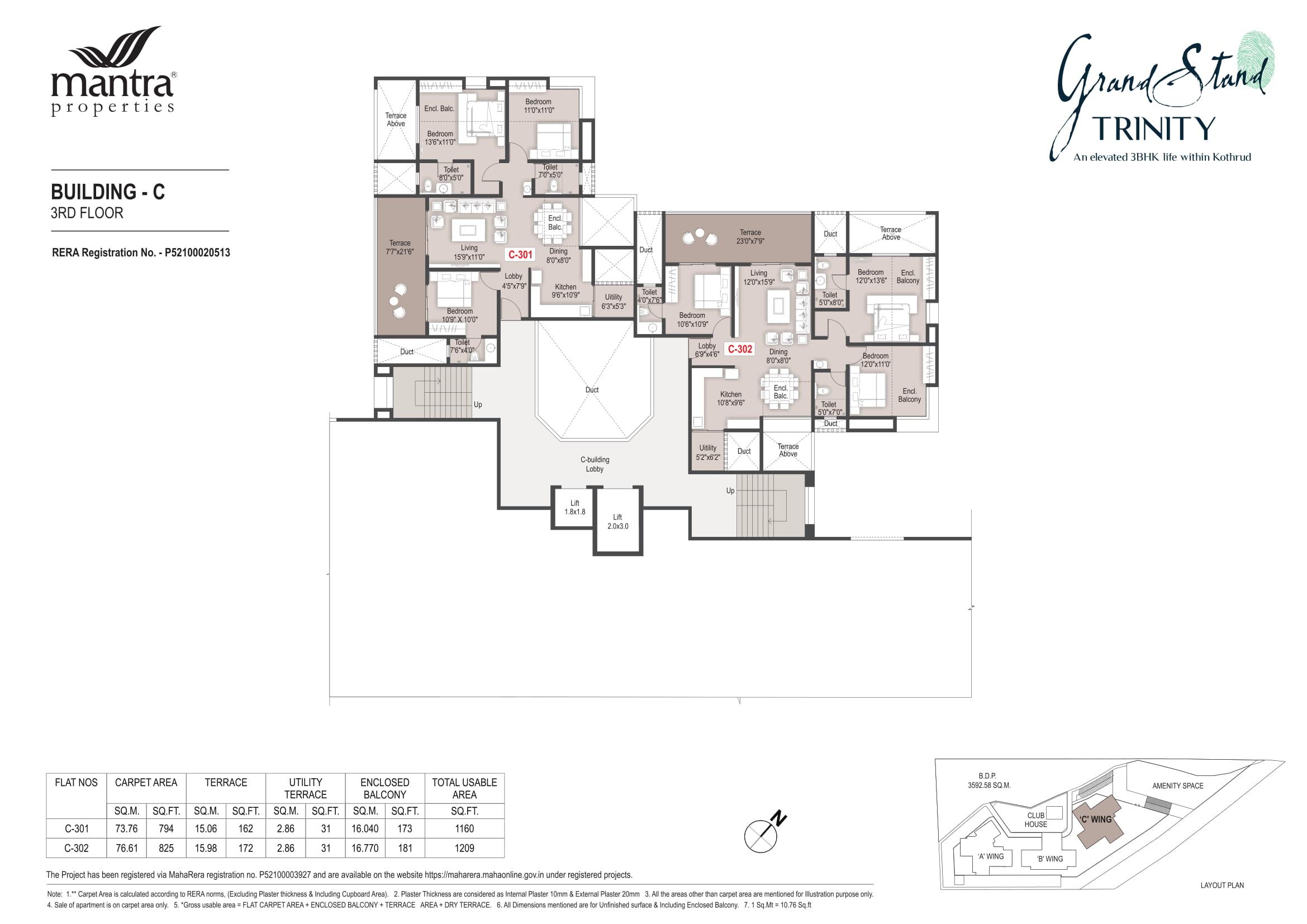 Grandstand Building - C Floor Plans-3