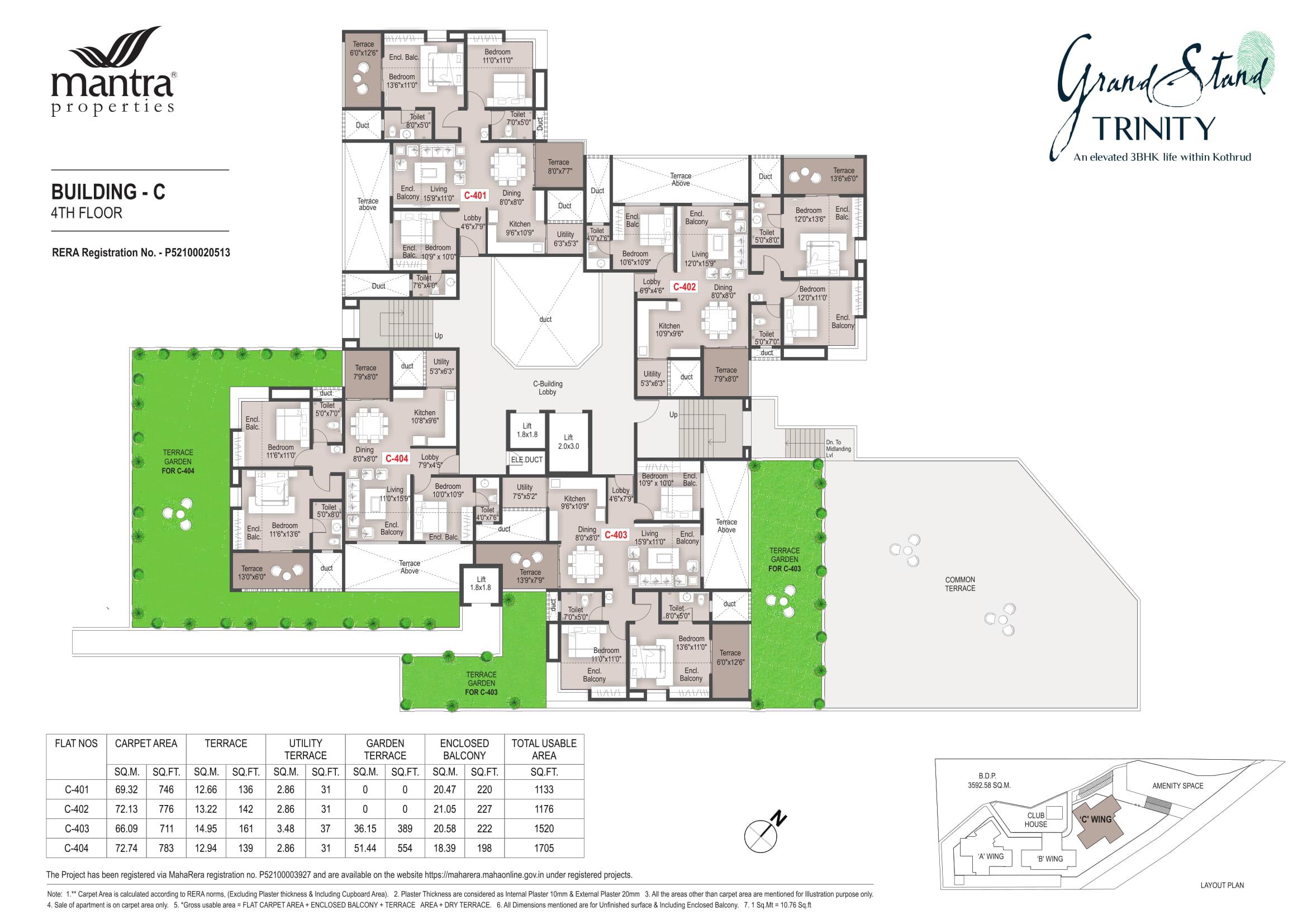 Grandstand Building - C Floor Plans-4
